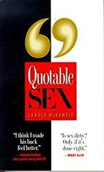 Quotable Sex
