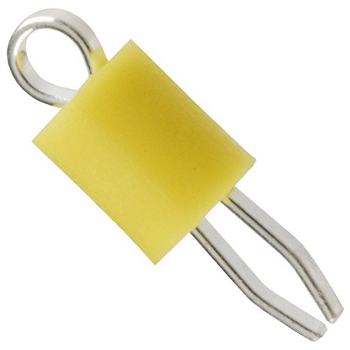 PC TEST POINT MINIATURE YELLOW (Pack of 100) by Keystone Electronics (Image #1)