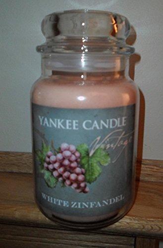 Yankee Candle White Zinfandel 22oz Jar Candle