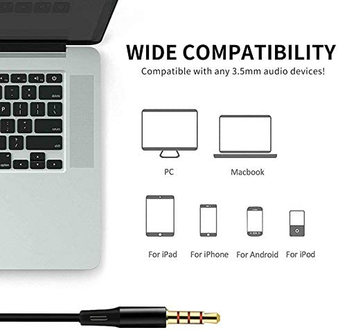 Earbuds Wired with Microphone Pack of 5, Noise Isolating in-Ear Headphones