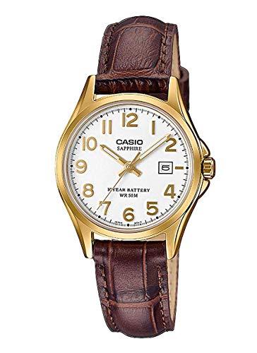 🥇 CASIO Reloj Analógico para Mujer de Cuarzo
