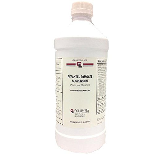 Pyrantel Pamoate Suspension 50 mg 32 oz bottle by Generic