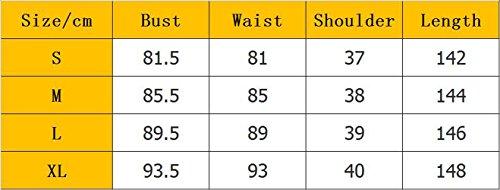 Baifern Women's Casual Bib Solid Overalls Long Jumpsuits