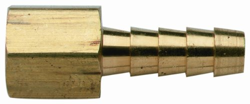 Sport Fuel Hose - Moeller Brass Fuel Line Hose Barb (Female 1/4