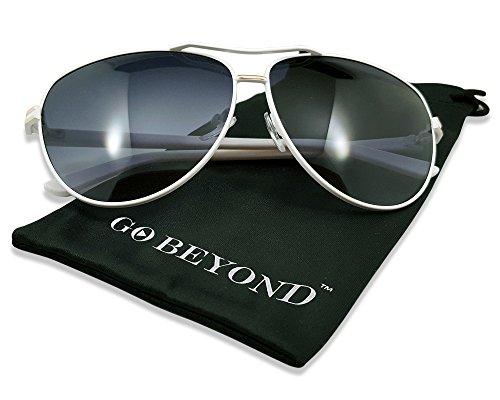 Polarized Color Mirror Revo lens White Men Women Sunglasses with UV Protection