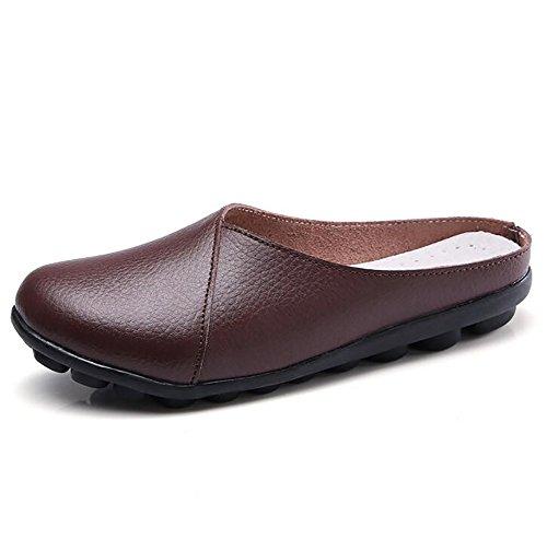 us8 uk6 Puro G Scarpe Colore Basso Fondo eu39 Tacco Pelle Morbido Antiscivolo Shangxian Pantofola Donna Vera Suola Scarpe cn39 c ZqHTp