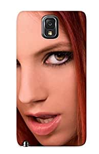 Awesome Case Cover/galaxy Note 3 Defender Case Cover(piper Fawn Ariel Adult Women Models Actress Females Girls Sexy Babes Redheadsb )