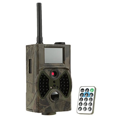 Docooler GPRS/MMS/SMS Function Digital Infrared Trail Camera Water Proof Scouting Surveillance Hunting Camera 940NM IR LED HC300M