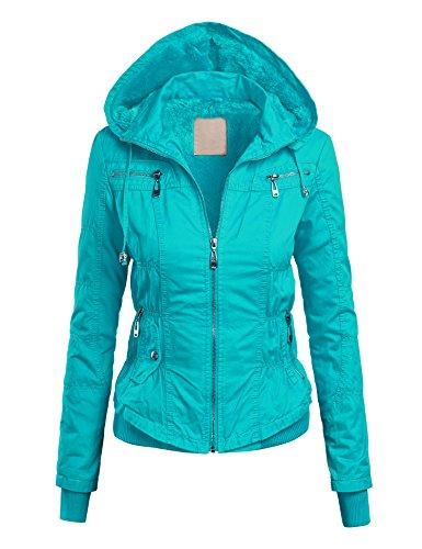 Cinched Zipper Jacket - 9