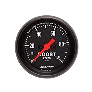 Auto Meter 2618 Z-Series Mechanical Boost Gauge