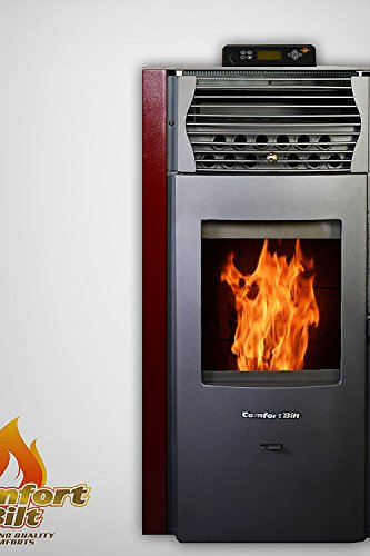 Comfortbilt Pellet Stove -HP50 42,000 BTU - Now Available in Burgundy!