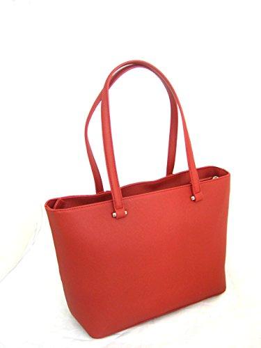 Valentino rosso borsa shopping line liqurizia