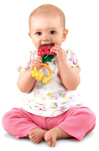 Fisher-Price Strawberry Teether   B005QUQC6A