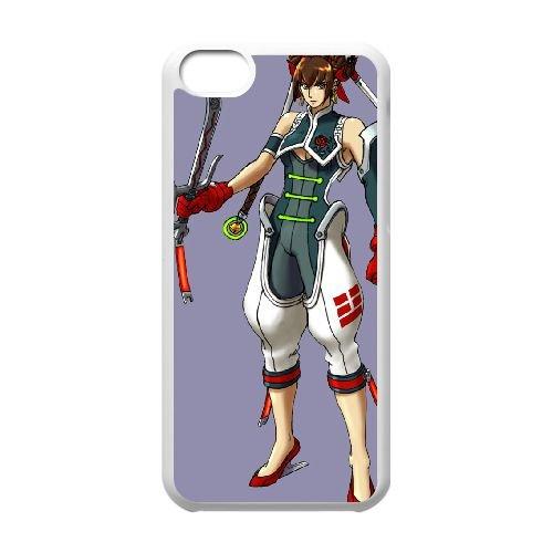 Strider 7 coque iPhone 5c cellulaire cas coque de téléphone cas blanche couverture de téléphone portable EEECBCAAN05065