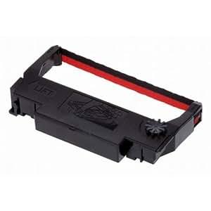 Ribbon Cartridge TM-300/U300/U210D/U220/U230, Black/red (ERC38BR)