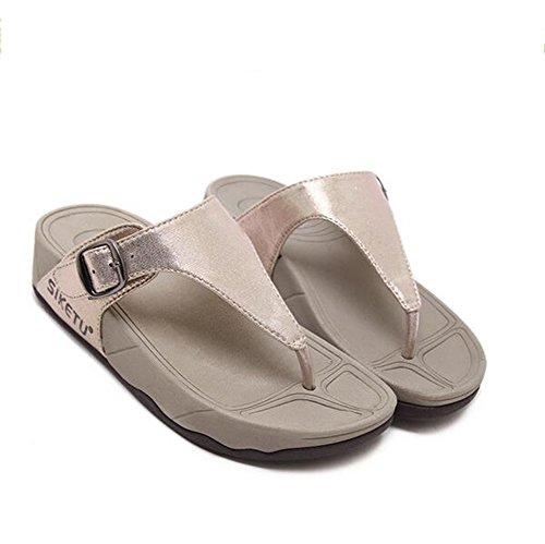 Flip NVXIE pantofola Ciabatte flop leader 5cm morbido 1 spesso 3 lanciare donna fermaglio Tacco slittata Beauty UUTfnxa