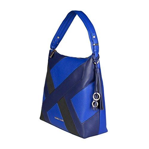 Versace Jeans E1VQBBK3_75428 Damen-Schultertasche Leder Blau
