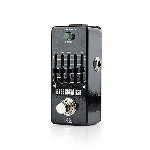 Zoom Bass Effects Pedal (AA - AEB-5 Bass Equalizer True Bypass Mini Portable Guitar Effects Pedal for Guitar)