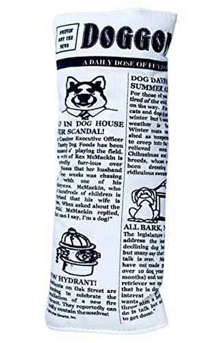 krinkle squeak newspaper toy