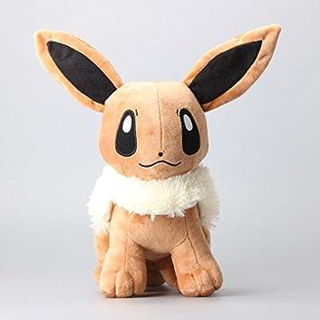 amazon com pokemon eevee cute soft plush figure toy anime stuffed