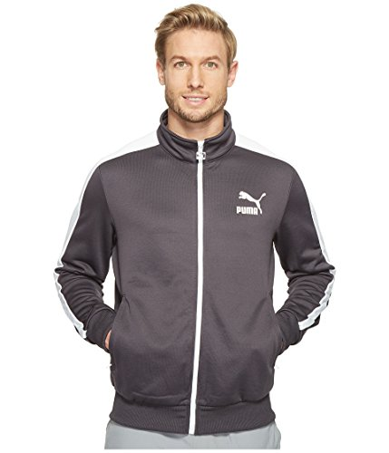 PUMA Men's Archive T7 Track Jacket, Blue, XL