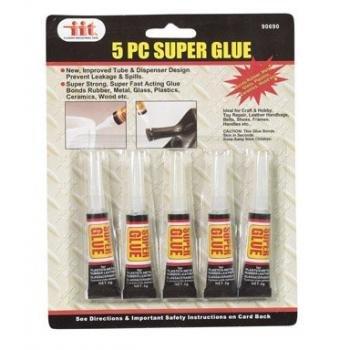 iit-90690-super-glue-3-grams-each-5-pack