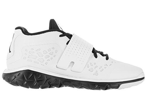 Flex Trainer Nike black White Nero Jordan Uomo Basket Scarpe Bianco Flight Black 2 rqEt7Ea
