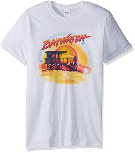 T Blanc shirt Classics Opaque Courtes Manches American Homme COA7qx