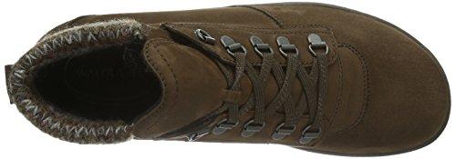 Waldläufer Holma - Botas de cuero para mujer marrón - Braun (Denver Rocco cigar braun)