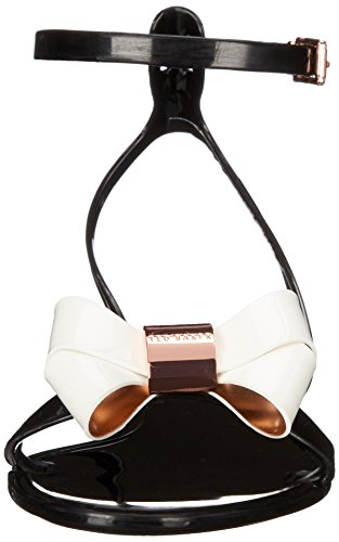 Women's Louwla Baker Cream Jelly Ted Black Sandal B6OqxZH
