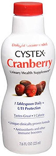 Cystex Liquid Cranberry Complex Supplement - 7.6 oz. (5 Pack) by Cystex