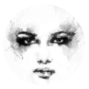 alfombrilla de ratón Cara de la mujer hermosa. ejemplo de la acuarela - ronda - 20cm