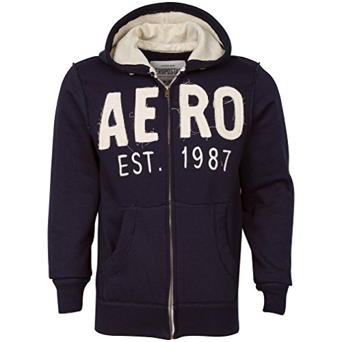 Aeropostale 1987 Navy Fashion Hoodie