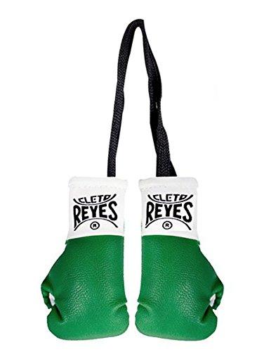 宿泊不規則な月Cleto Reyesミニチュアのペアボクシング手袋 – グリーン