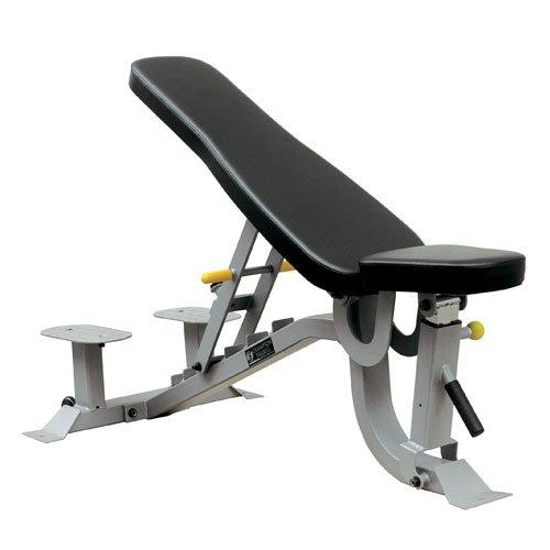 BSN Wheeled Adjustable Weight Bench