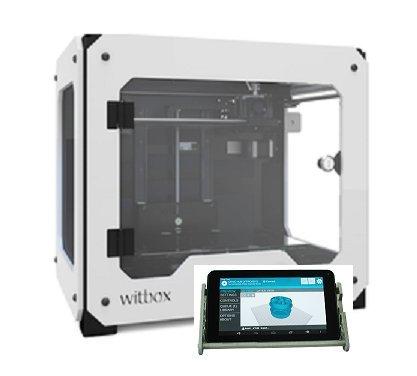 BQ Witbox 3D Printer with MatterControl Touch BQ Printers