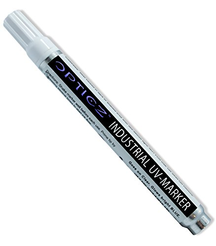 Opticz Blacklight Reactive Invisible Blue Ink Industrial UV Marker