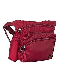 Lug Women's Sidekick Excursion Pouch Cross Body Bag, Cardinal Red, One Size