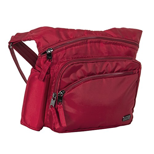 Lug Women's Sidekick Excursion Pouch Cross Body Bag, Cardinal Red, One Size - Excursion Cargo Messenger Bag