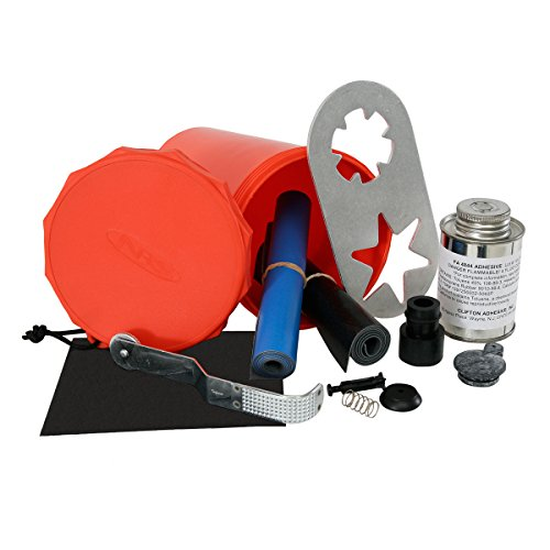 NRS Pennel Orca Raft and Inflatable Kayak Repair Kit Blue One Size