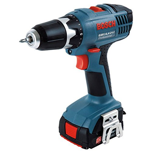Bosch GSR 14.4-2 LI Cordless Drill Power Tools 14.4V / 2 [2.0AH] Battery by BOSCH