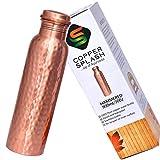 Copper Splash-Copper Water Bottle - ASIN (B06XBWHNGQ)