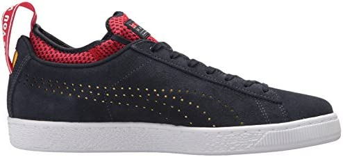 best cheap fe778 e5684 PUMA Mens 30611001 Red Bull Racing Suede Black Size: 10.5 US ...