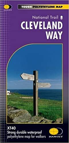 Cleveland way route maps amazon harvey map services ltd turn on 1 click ordering for this browser publicscrutiny Choice Image