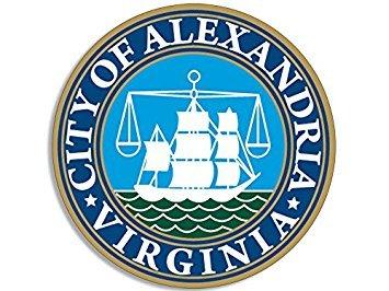 GHaynes Distributing MAGNET Round ALEXANDRIA City Seal Magnet(virginia va) Size: 4 x 4 - Virginia Seal
