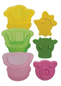 Tovolo Ice Cream Sandwich Molds, Farmyard - Set of 3