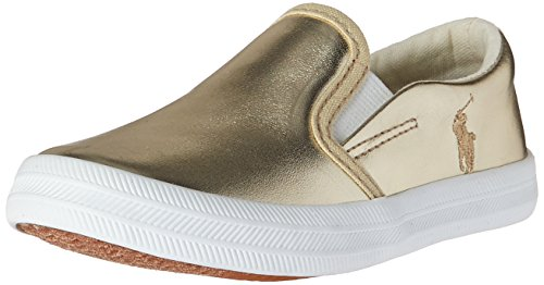 Polo Ralph Lauren Kids Benton Ii Slip-On,Gold,6 M US - Lauren And Us Polo Ralph