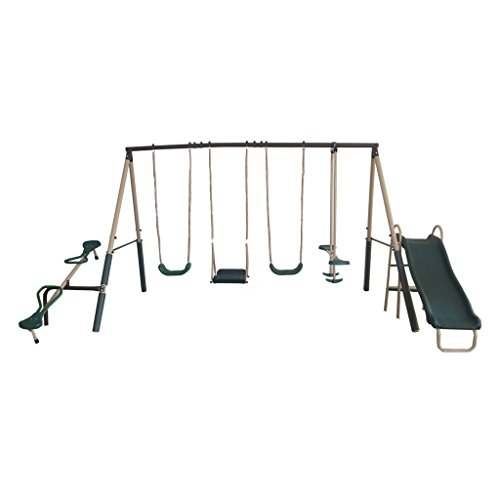 XDP Recreation Outdoor Play Kids Backyard Playset Swing Set