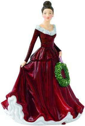 Royal Doulton Songs of Christmas Phase 2 Mistletoe and Wine Figurine