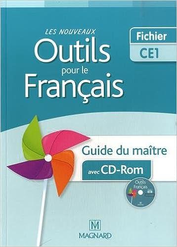 Livres gratuits Les nouveaux outils pour le français CE1 : Guide du maître (1Cédérom) pdf, epub